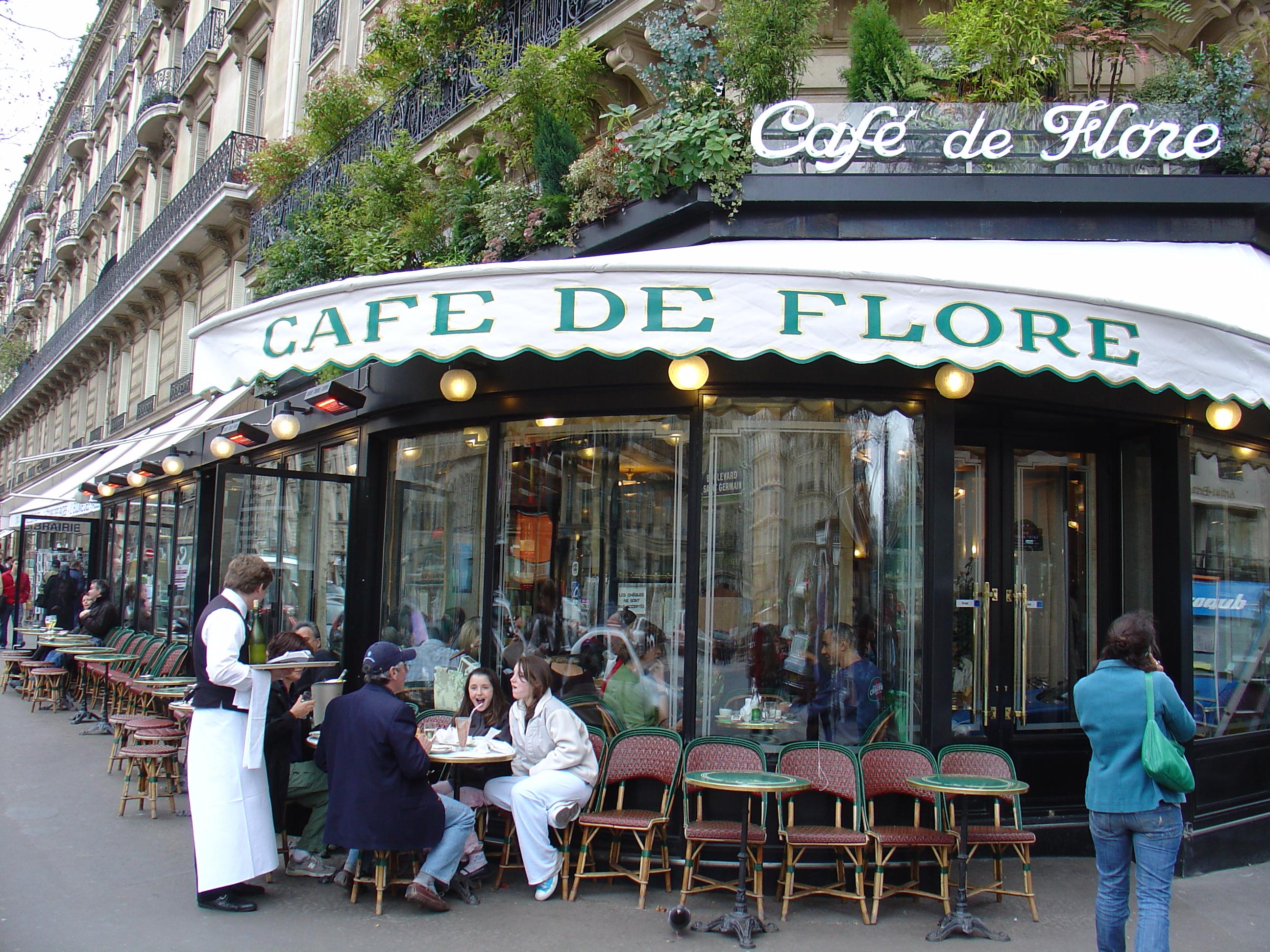 Cafe Le Flor Paris
